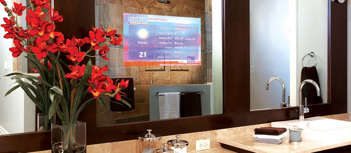 Home spaces home automation dubai for Home automation shower